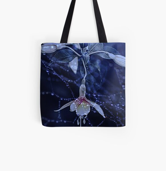 Denim And Lace.... All Over Print Tote Bag