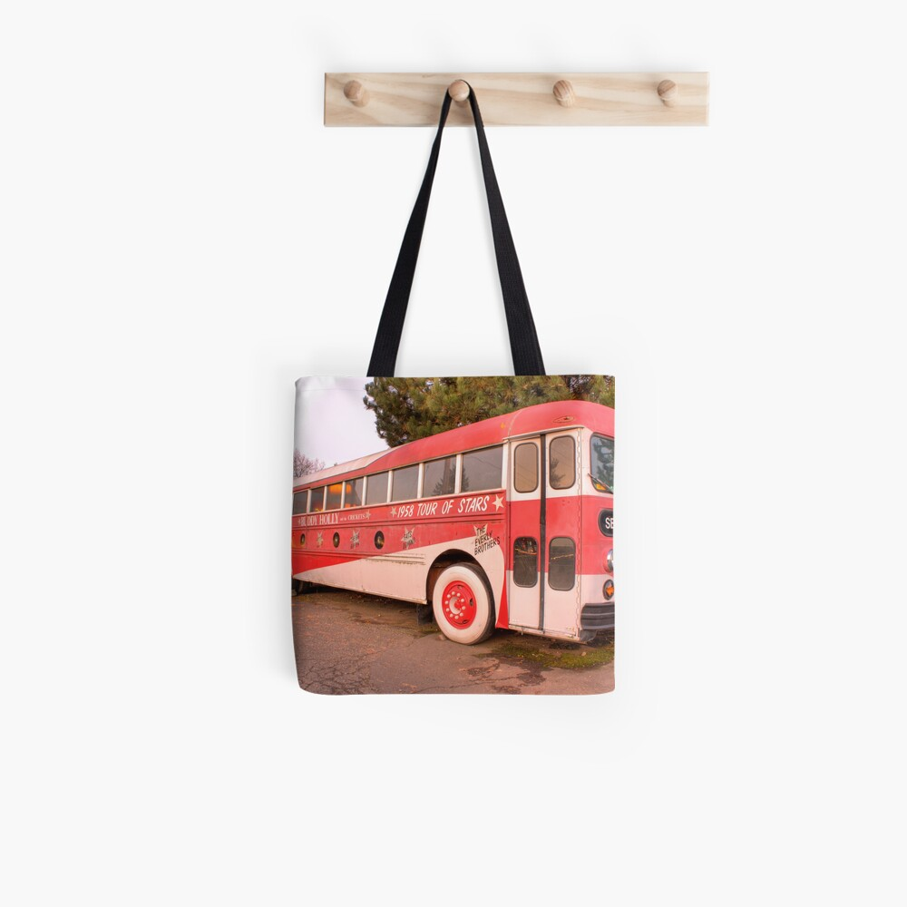 The Tour Bus From Hell Tote Bag