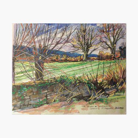 Winter in the Glen of Aherlow, Tipperary, Ireland Art Board Print