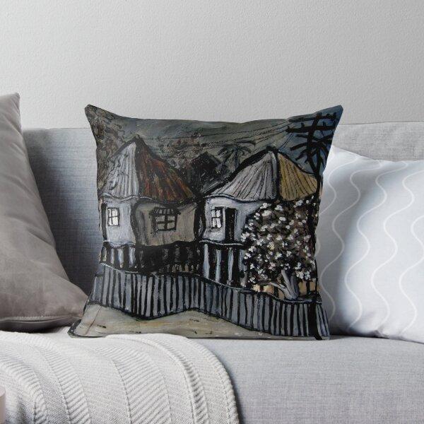 east brisbane houses Throw Pillow
