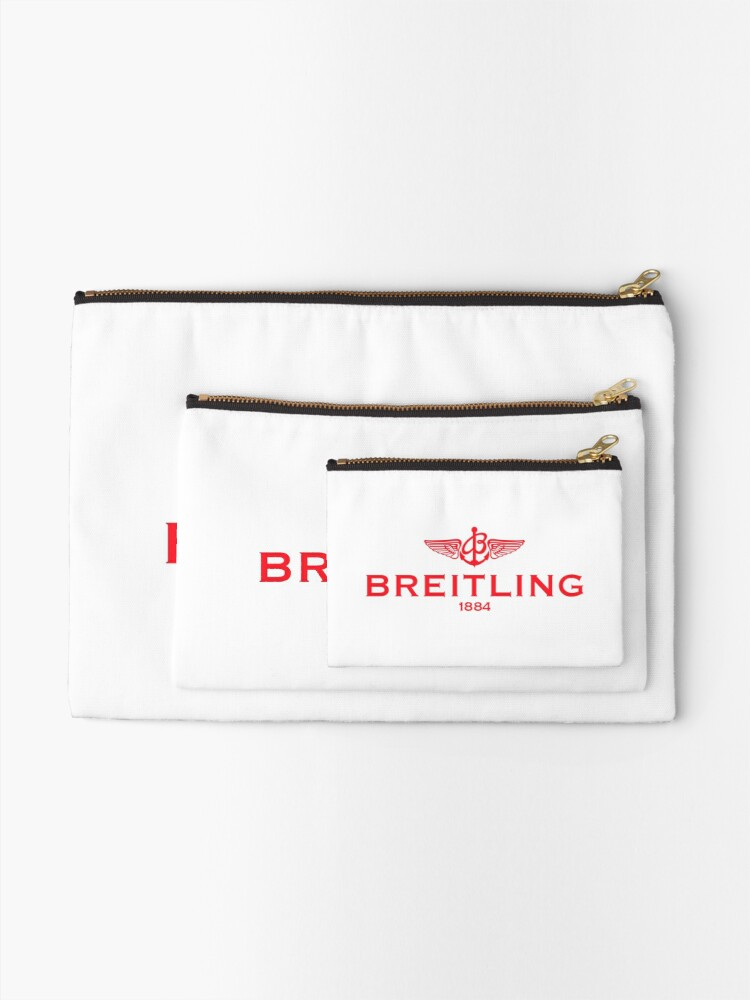 Alternate view of Breitling Red Logo Zipper Pouch