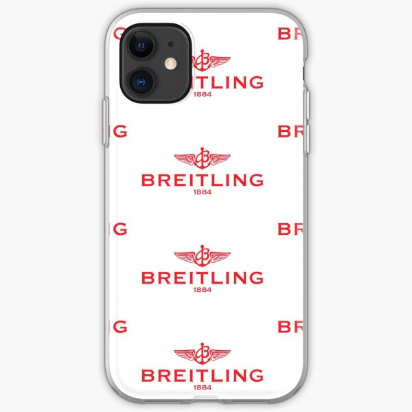 Breitling Red Logo iPhone Soft Case
