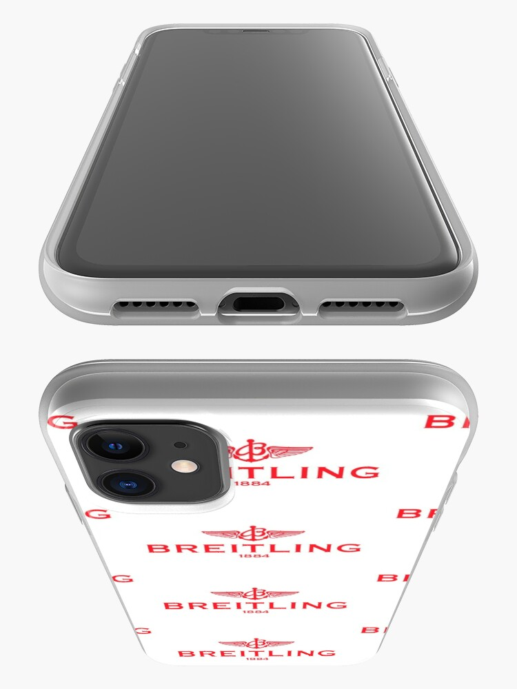 Alternate view of Breitling Red Logo iPhone Case & Cover