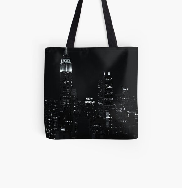 The New Yorker Hotel All Over Print Tote Bag