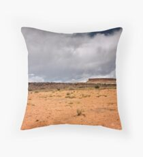 A Sere and Lonely Land Throw Pillow