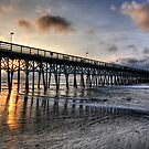 Sunrise in Myrtle Beach by Joel Hall