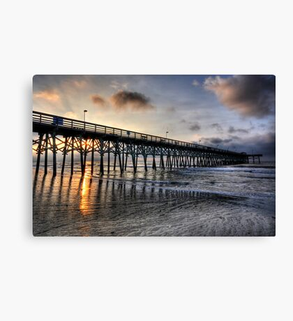 Sunrise in Myrtle Beach Canvas Print