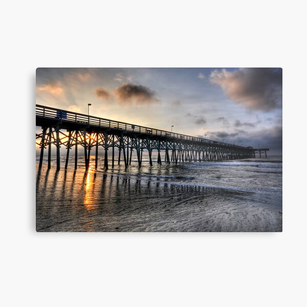 Sunrise in Myrtle Beach Metal Print