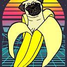 «banana pug estética» de FandomizedRose