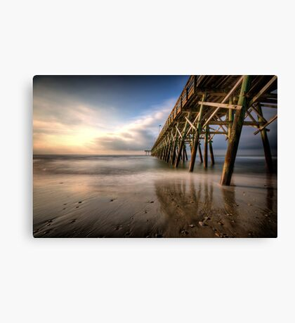 Waveless Canvas Print