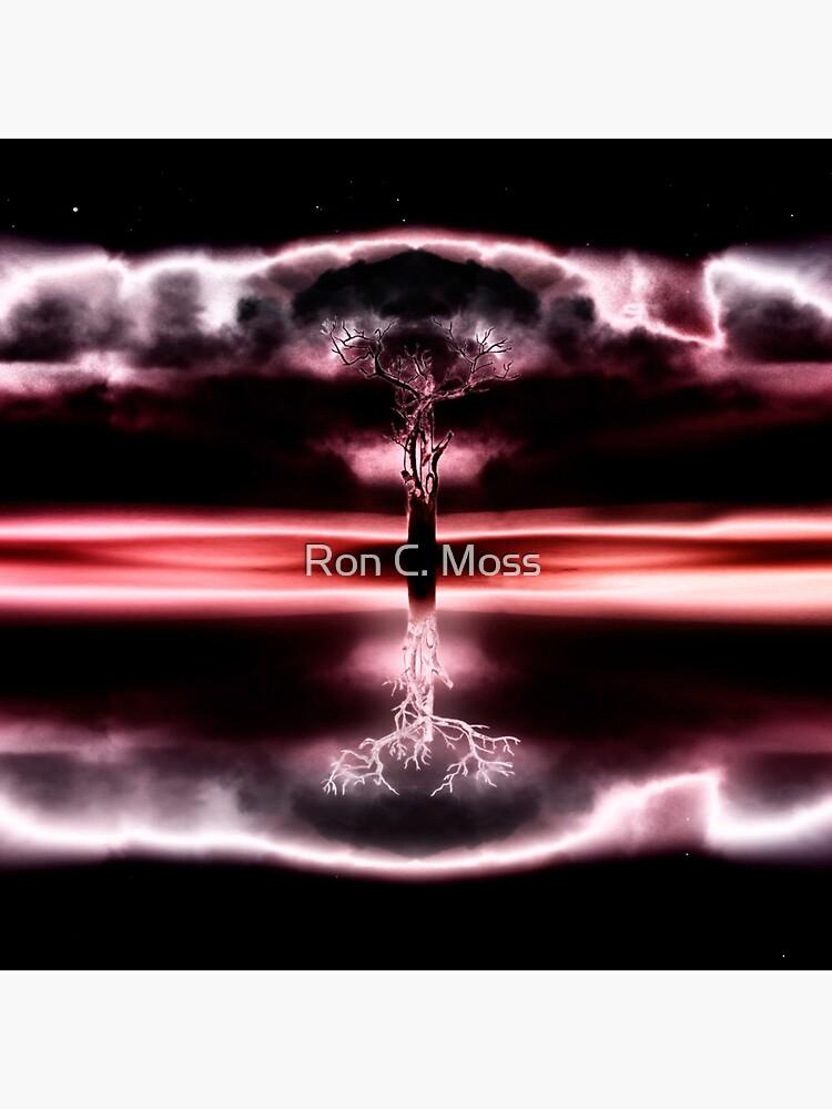 Lightning Tree by ronmoss