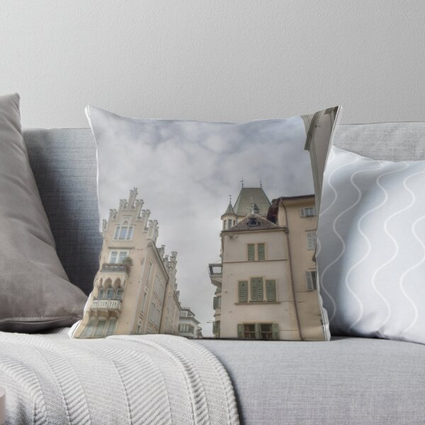 bolzano - bozen Throw Pillow