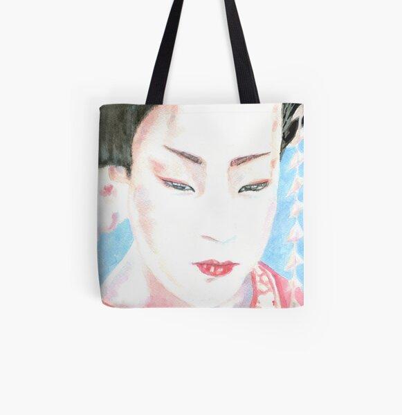 Summer Geisha All Over Print Tote Bag