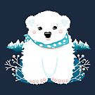 Polar Bear Cub by Karin Taylor