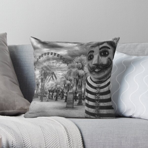 Bollards - that's what I say! Throw Pillow