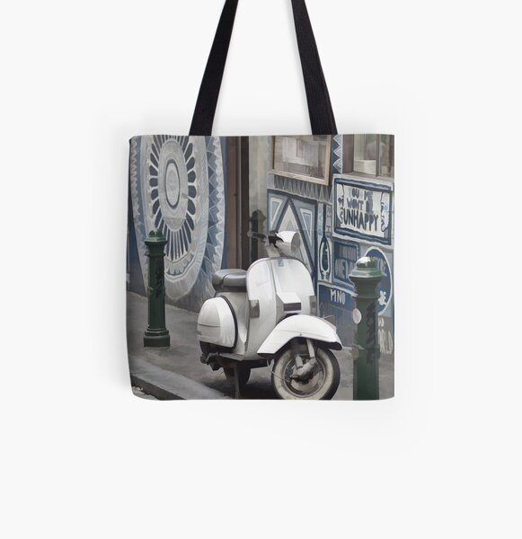 Urban Transport All Over Print Tote Bag