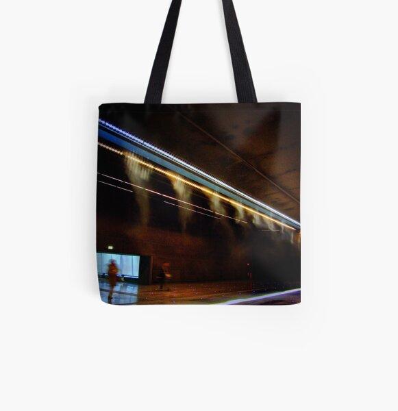 Malpensa Airport All Over Print Tote Bag