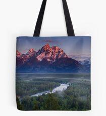 Teton Morning Tote Bag