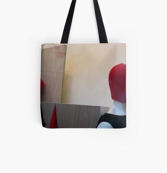 Manekeen H All Over Print Tote Bag