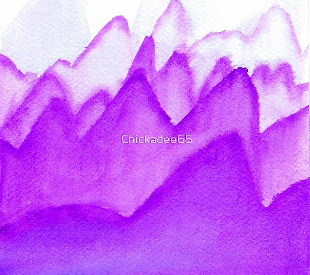 Purple Mountains by Chickadee65