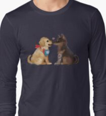 Cap & Bucky Long Sleeve T-Shirt