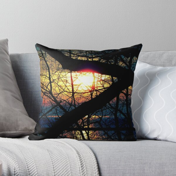 Sunrise © Throw Pillow