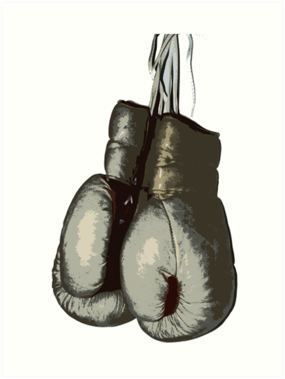 """Vintage Boxing Gloves"" Art Prints By 319media"