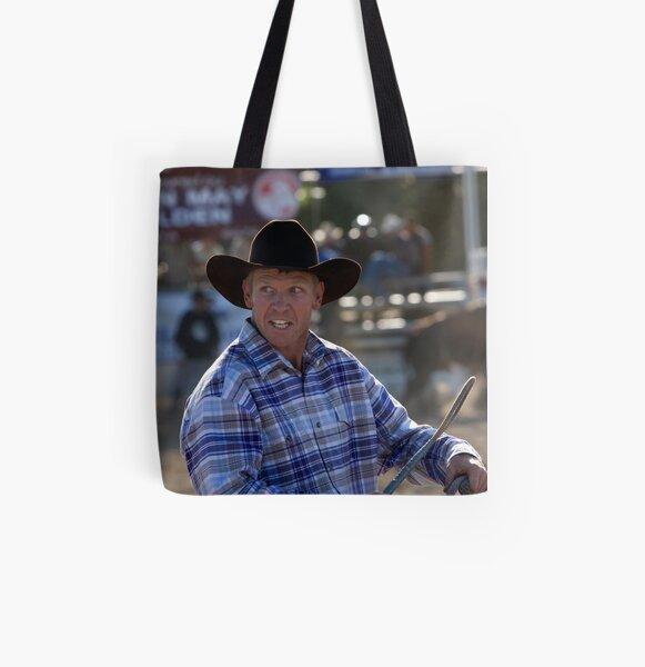 Moruya Rodeo New Years Day 2012 All Over Print Tote Bag