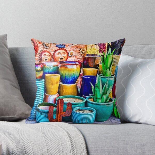Rumba Of Colors . Throw Pillow