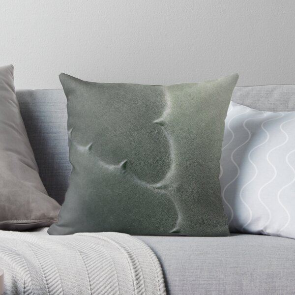 carved Y Throw Pillow