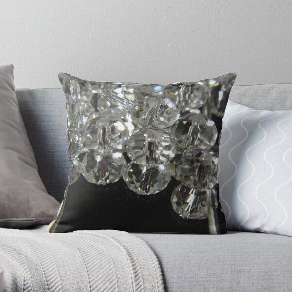 Reflections Of Swarovski Throw Pillow