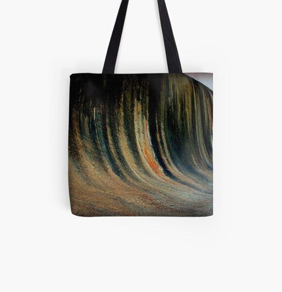 Wave Rock,  Western Australia All Over Print Tote Bag