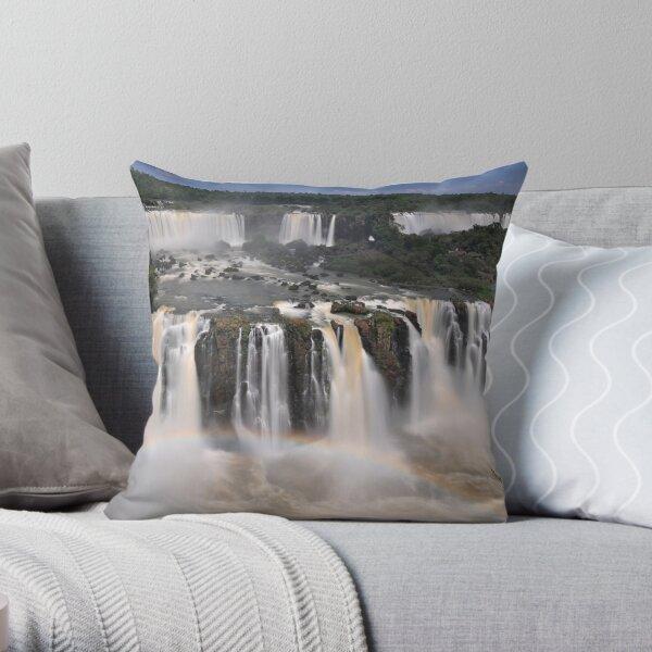Tiered Falls #2 Throw Pillow