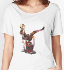 Lady Tina of Blowupyourfaceheim Women's Relaxed Fit T-Shirt