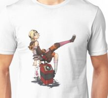Lady Tina of Blowupyourfaceheim Unisex T-Shirt