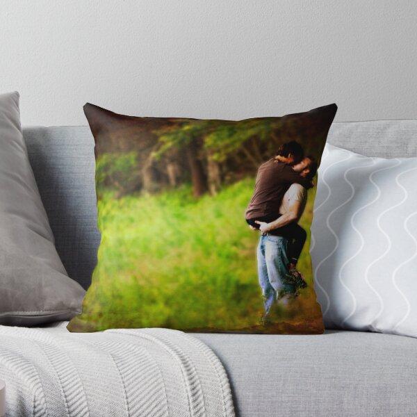 A Stolen Moment Throw Pillow