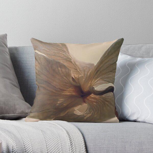 Expired Blossom Throw Pillow