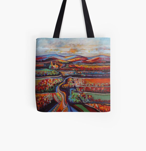 All Roads Lead to Home All Over Print Tote Bag