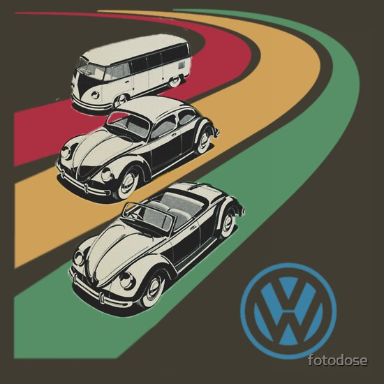 TShirtGifter presents: vintage vw