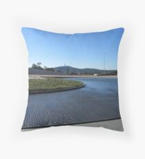 Canberra - Water Feature Throw Pillow