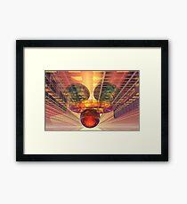 Alien technology Framed Print