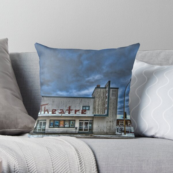Theatre of the North Throw Pillow