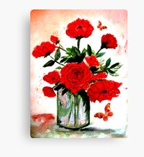 Roses for You Canvas Print