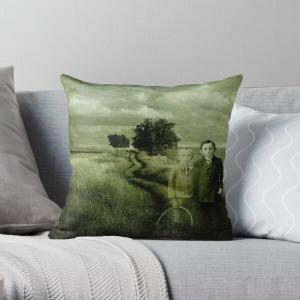Sometimes We Can't Hang On Throw Pillow