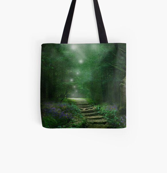 Spirit of the Woods All Over Print Tote Bag
