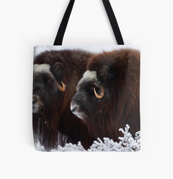 King of the Tundra All Over Print Tote Bag