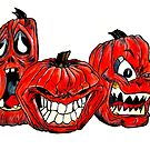 Angry Pumpkins  by StaceySteph