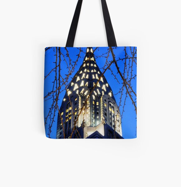 Chrysler Building: NYC All Over Print Tote Bag