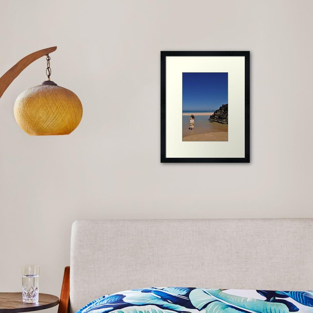 Lighthouse Dreams Framed Art Print
