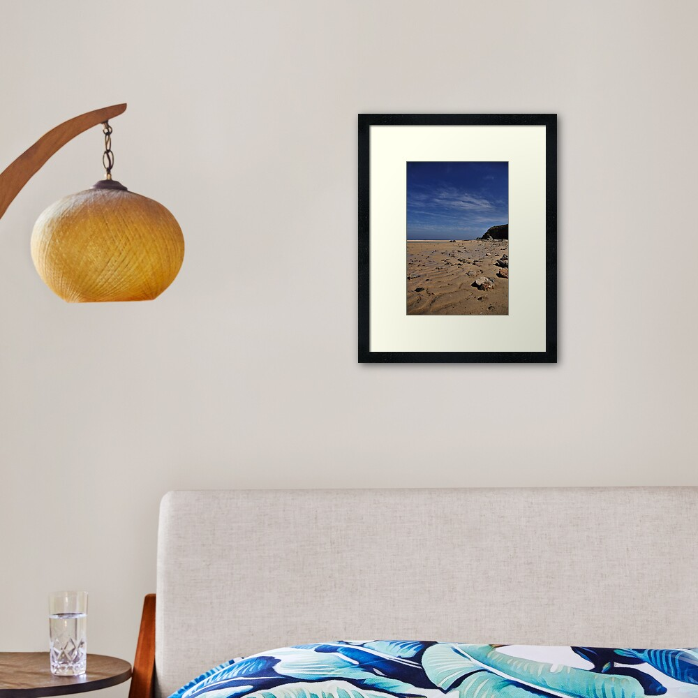 Beachscape 1 Framed Art Print